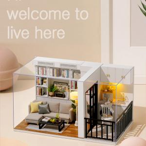 Dollhouse Miniature Furniture Kit