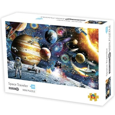 Mini Jigsaw Puzzles 1000 Pieces - 35 Art Styles to Choose From