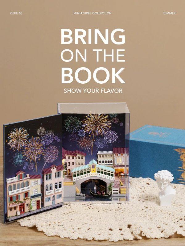 Bookshelf Miniature - Mini Book Series