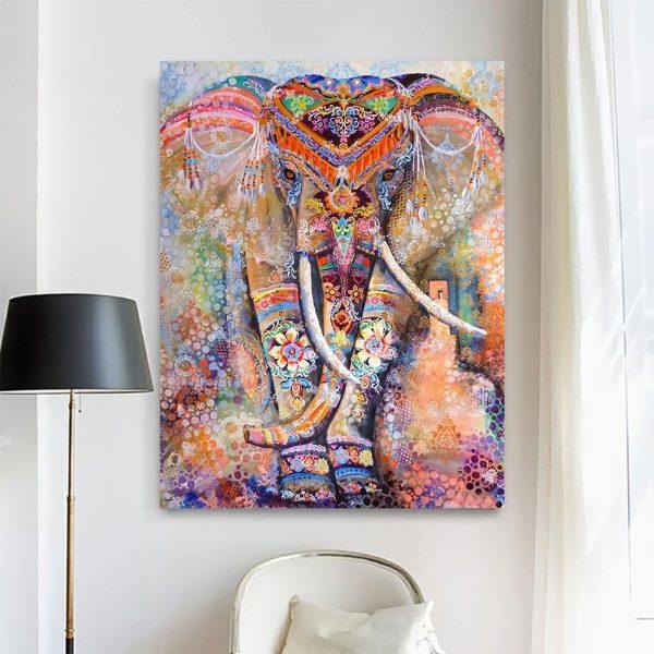 Elephant Art Jigsaw Puzzles 1,000 Pieces