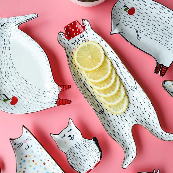 Animal Ceramic Plate