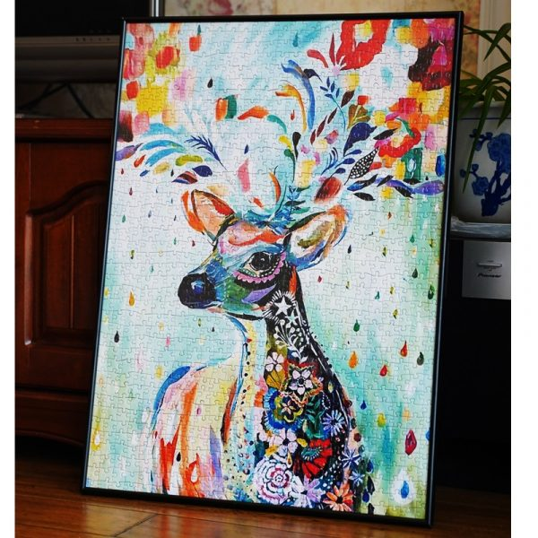 Deer Jigsaw Puzzles 1000 Pieces
