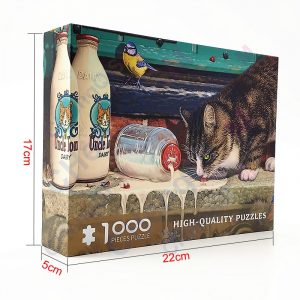Cat Kitten Jigsaw Puzzle 1000 Pieces