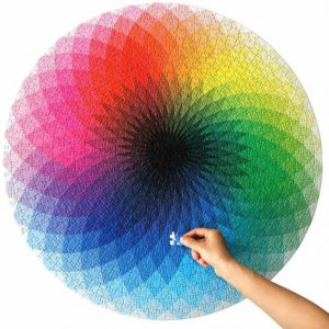 Rainbow Jigsaw Puzzles