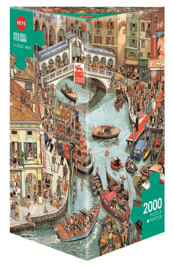 Canal Jigsaw Puzzles 2000 Pieces