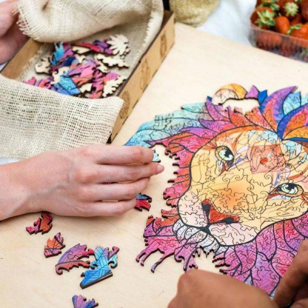 Difficult Wooden Art Jigsaw Puzzles