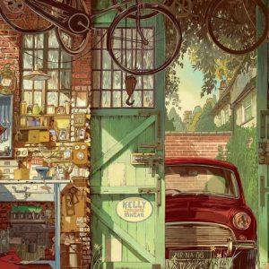 Garage Jigsaw Puzzle