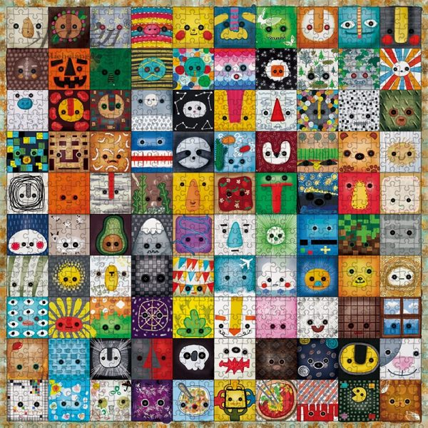 Animals Cartoon Icons Jigsaw Puzzle 500 Pieces