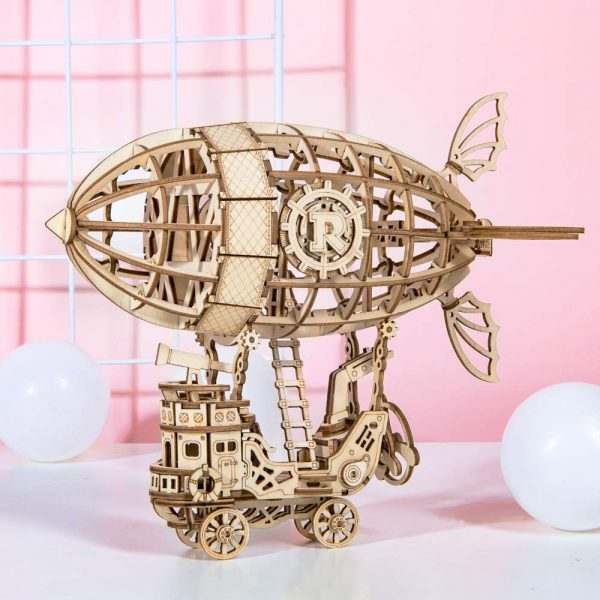 Airship Wooden 3D Puzzles