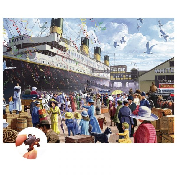 Titanic Jigsaw Puzzle 1000 Pieces