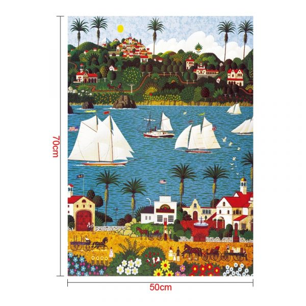 Sailing Ship Jigsaw Puzzles 1000 Pieces