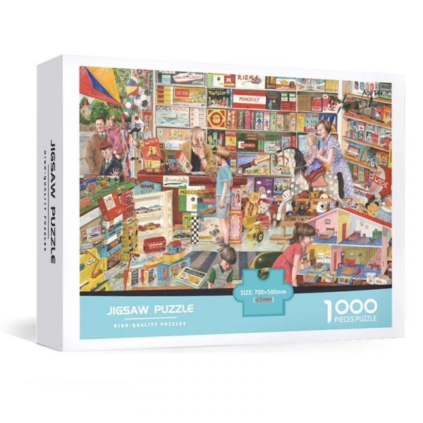 Cartoon Puzzle 1000 Pieces