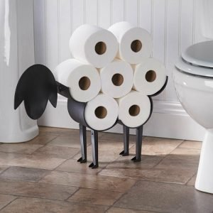 Toilet Roll Holder Stand